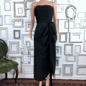 Vintage Victor Costa Black Gown